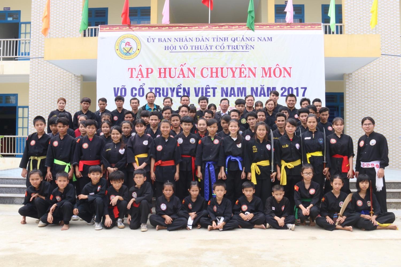 Tập huấn chuyên môn tỉnh Quảng Nam năm 2017